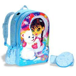 Lisa Frank Eskimo Girl Fashion Backpack Toys & Games