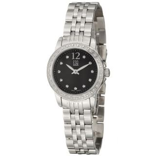 ESQ by Movado Womens Capri Stainless Steel Quartz Diamond Watch
