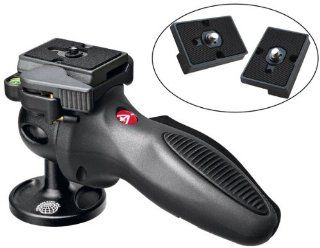 Manfrotto 324RC2 Light Grip Joystick Tripod Ball Head with