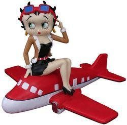 Betty Boop Airplane Figure Sports & Outdoors