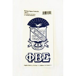 Phi Beta Sigma Sticker Everything Else