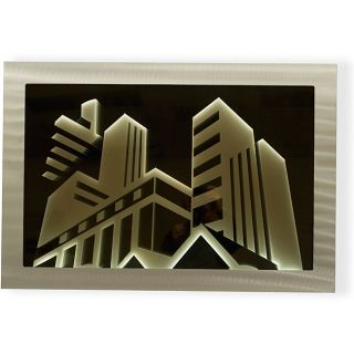 Jon Gilmore Endless City Infinity Wall Mirror Wall Mirror Art