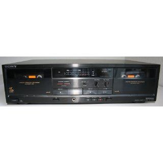 Sony Dual Stereo Cassette Tape Deck TC W320 Everything