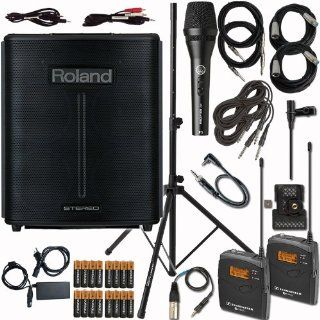 Roland BA 330 Portable Digital PA System Package with