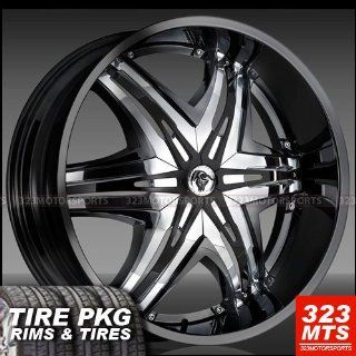 Wheels & Lexani 325/35/28 Tires 4pc  1set    Automotive