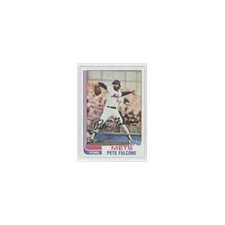 Falcone New York Mets (Baseball Card) 1982 Topps #326 Collectibles