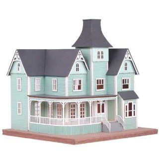 Dollhouse Miniature 1/144 Scale Queen Anne Mansion