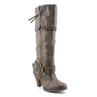 Not Rated Womens Wild West Faux Leather Boots
