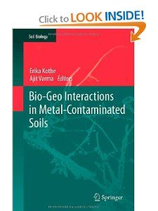 Bio Geo Interactions in Metal Contaminated Soils (Soil Biology) Erika
