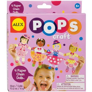 Paper Chain Dolls Kit