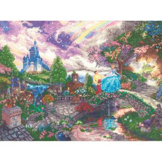 Disney Dreams Collection Cinderella Wishes By Thomas Kinkade Compare