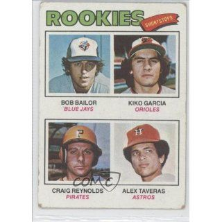 Rookie Shortstops/Bob Bailor RC (Rookie Card)/Kiko Garcia
