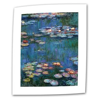 Claude Monet Water Lilies Flat Canvas Art