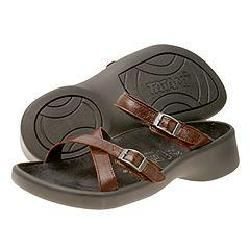 Tatami Morgan Cordovan Leather Sandals   Size 10 10.5