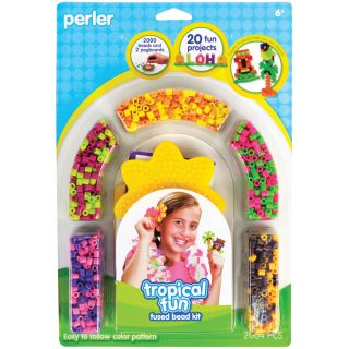 Perler Fun Fusion Fuse Bead Activity Kit Aloha Today $9.99
