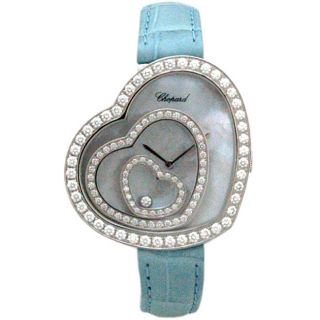 Chopard Happy Spirit 18k White Gold Diamond Watch