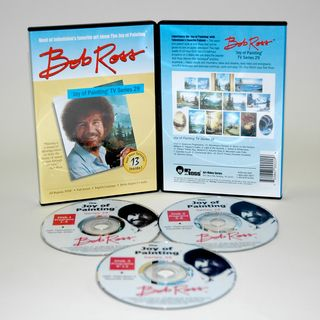 Weber Bob Ross DVD Joy of Painting Series 29. Featuring 13 Shows
