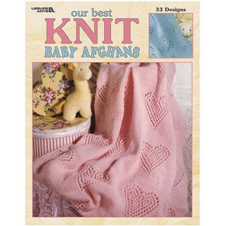 Leisure Arts Our Best Knit Baby Afghans Book