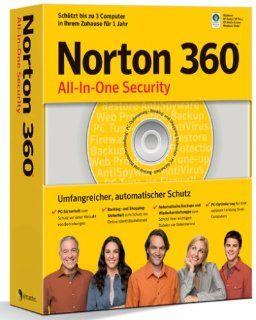 Norton 360   3 PCs Software