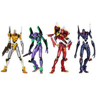 Revoltech Yamguchi New Evangelion Figure Box (4 Evas) (japan import
