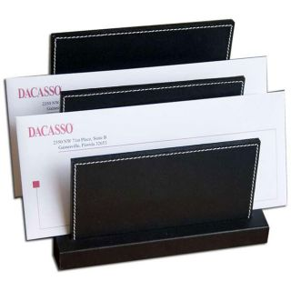 Dacasso Eco friendly Leather Letter Holder
