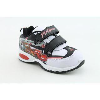 Disney Pixar Youths Lightning Mcqueen Lighted Sneaker White Casual