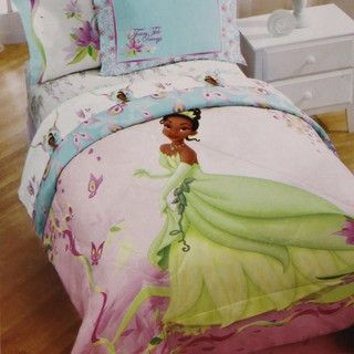 Princess and the Frog Bayou Dreams Twin size 4 piece Bed in a Bag