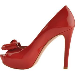Womens Joan & David Cutie Red Patent Leather