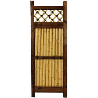 Oriental Home Japanese Bamboo 4x1.5 foot Zen Garden Fence (China
