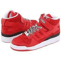 adidas Originals Forum Mid NBA Red/Red/Black Athletic