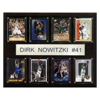 NBA 12 x 15 in. Dirk Nowitzki Dallas Mavericks 8 Card Plaque at