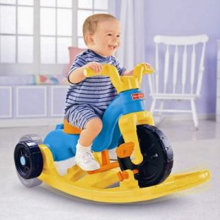 Fisher Price Rock, Roll n Ride Trike   Rocking Vehicles