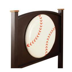 Conrad Baseball theme Twin size Bedroom Set