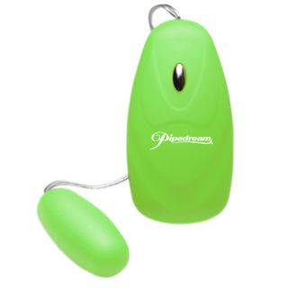 Pipedream Products Neon Luv Touch 5 function Green Bullet