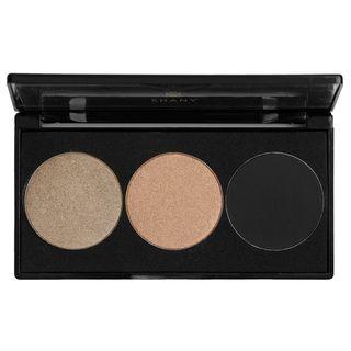 Shany Everyday Travel Trio Mocha Bronze Eyeshadow Palette