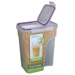 Snapware 23 Cup Jumbo Flip Top TM Rectangle Cereal Keeper 4014