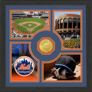 Highland Mint New York Mets Fan Memories Minted Coin Photo Frame