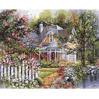 Plaid Bella Palazzo Paint By Number Kit
