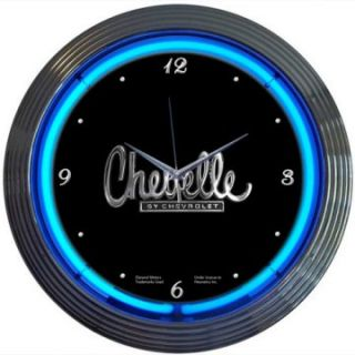 Chevelle Neon Clock   Clocks