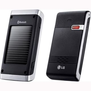 LG HFB500 Bluetooth Solar Car Speaker Phone
