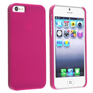 BasAcc Protex Solid Hot Pink Snap on Case for Apple iPhone 5