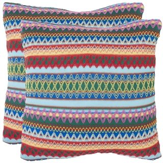 Fantasia Blue 18 inch Decorative Pillows (Set of 2)
