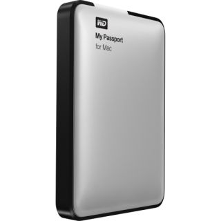 Western Digital My Passport for Mac 750GB USB Portable Hard Drive