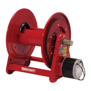 Reelcraft Heavy Duty Motor Driven 3/4 in. Hose Reel   100 ft. at