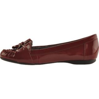 Womens Anne Klein Kismet Dark Red Lizard Print
