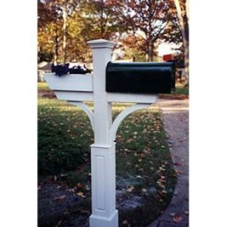 New England Woodworks Gardener Mailbox Post   Mailbox Posts at