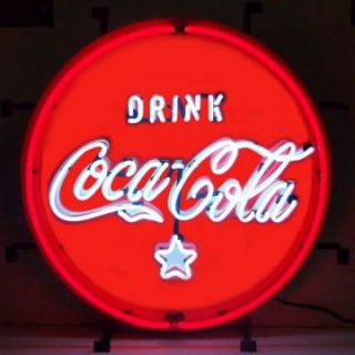 Coca Cola® Red, White & Coke® Neon Sign