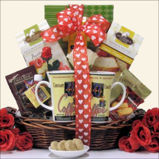 Great Arrivals Breakfast For Two Valentines Day Gift Basket