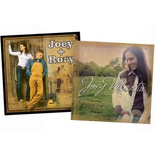 Joey + Rory   Life of a Song & Strong Enough to Cry 2 CD Bundle