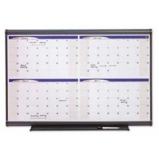 Four Month Calendar   47 x 35 in.   Bulletin Boards